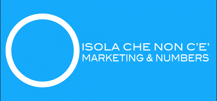 Logo Isola che non c'è marketing & Numers